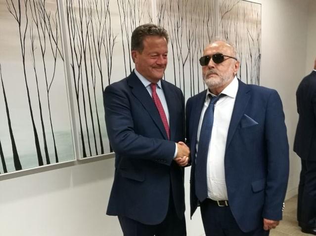Συνάντηση του Παναγιώτη Κουρουμπλή με τον Πρόεδρο των P&I Clubs στο Λονδίνο