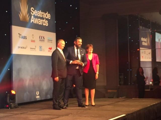 Η «ASPIDA» βραβεύεται για τις υπηρεσίες της με το «Seatrade Cyber Security Award»