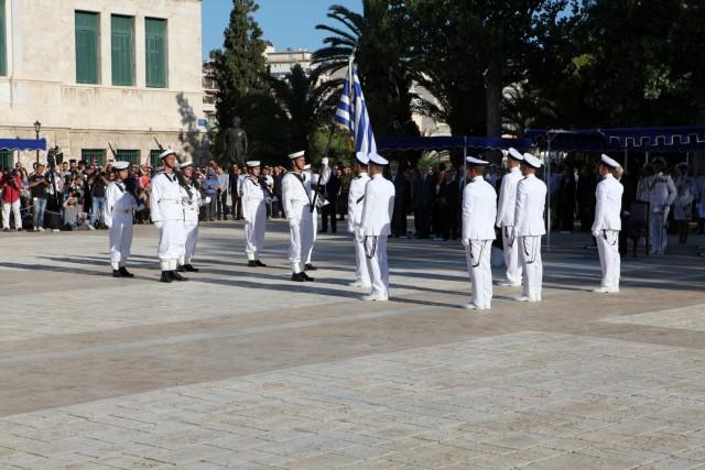 Τελετή ορκωμοσίας τριάντα επτά νέων Σημαιοφόρων ΠΝ