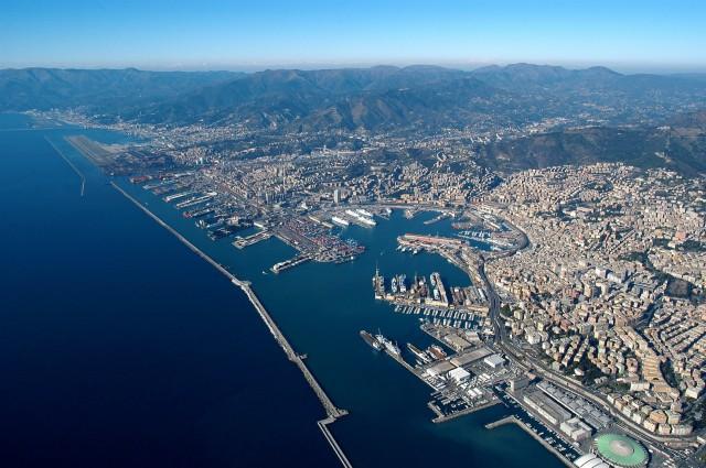 Εγκατάσταση ανεφοδιασμού πλοίων με καύσιμο LNG στη Γένοβα