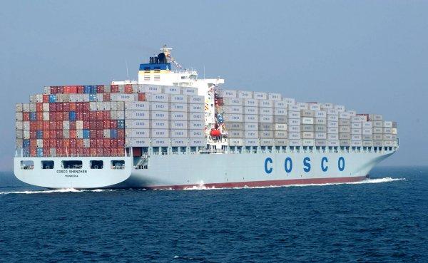 Η Cosco εξαγοράζει την OOCL