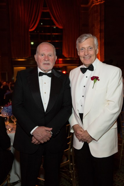 J. Arnold Witte (Donjon Marine Co., Inc., Chairman – American Club Board of Directors), Joseph E.M. Hughes (Chairman and CEO – SCB, Inc.)