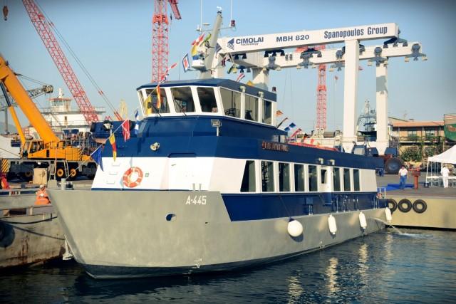 """Τελετή Ονοματοδοσίας Βοηθητικού Πλοίου Βάσεως (ΒΒ) """"ΑΝΤΙΓΟΝΙΣ"""""""