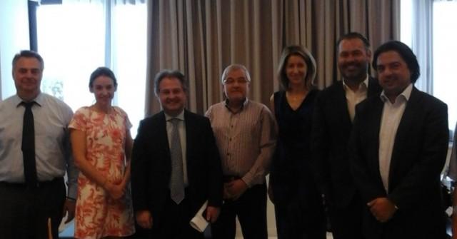 Συνάντηση Ένωσης Εφοπλιστών Ναυτιλίας Μικρών Αποστάσεων (ΕΕΝΜΑ) με διοίκηση του ΟΛΠ ΑΕ