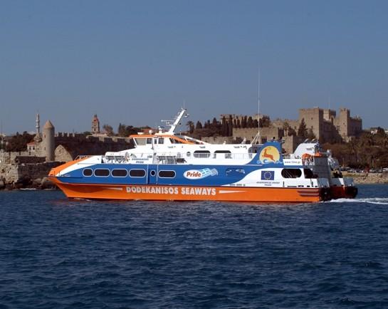 """Κανονικά εκτελούνται τα δρομολόγια της """"Dodekanisos Seaways"""" από και προς την Κω"""