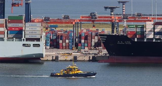 Σημαντική αύξηση στη διακίνηση φορτίου στο Ρότερνταμ