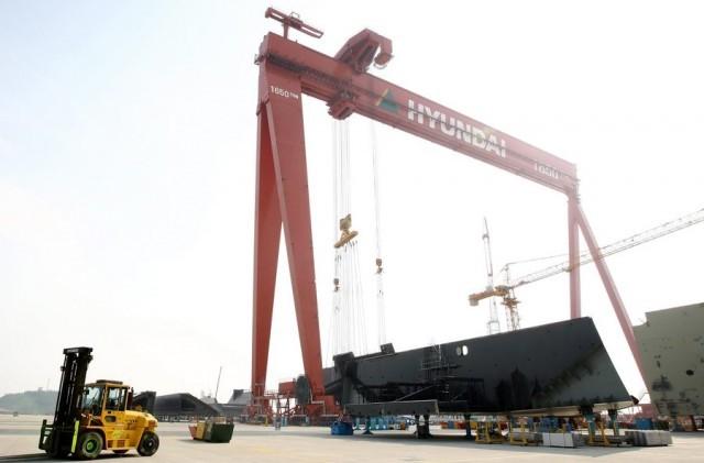 Αυξημένο σε αξία το βιβλίο παραγγελιών για την Hyundai Heavy Industries