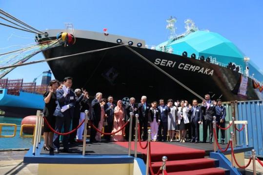 Η MISC Berhad παραλαμβάνει το τρίτο LNG πλοίο της τύπου MOSS