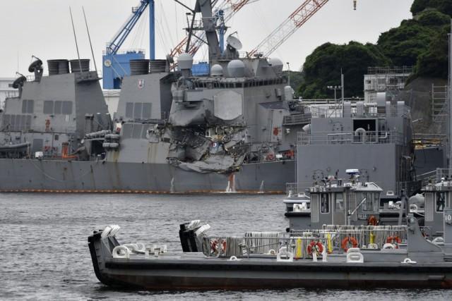 Επιστρέφει στις ΗΠΑ το αντιτορπιλικό «USS Fitzgerald»