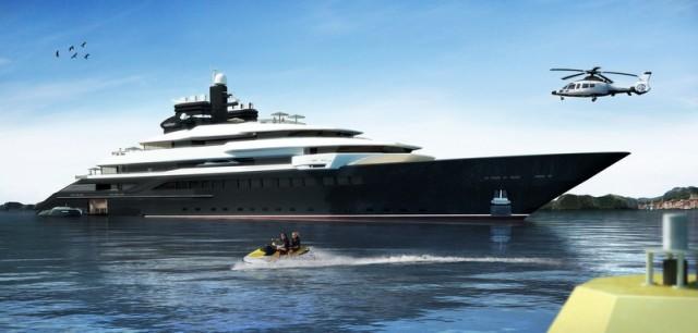 """Πολυτέλεια εν πλω στο mega yacht """"Rialto"""" (φωτογραφίες)"""