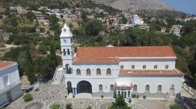 Η εκκλησία της Παναγίας Ερειθιανής στη Χίο