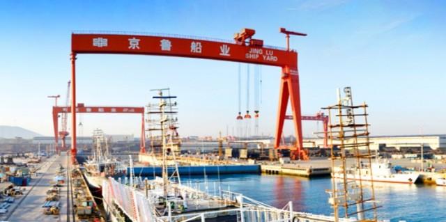 Τα ναυπηγεία της Κίνας καταγράφουν σημαντική πτώση στα κέρδη τους