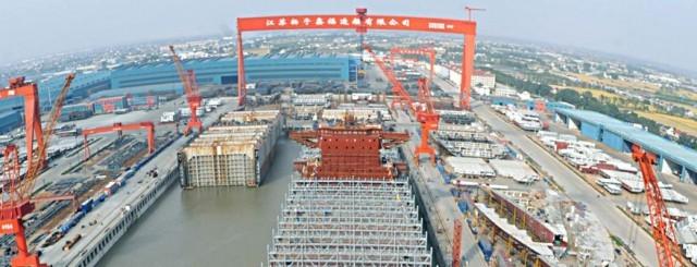 Τα ναυπηγεία της Κίνας σε συνεχόμενη κρίση