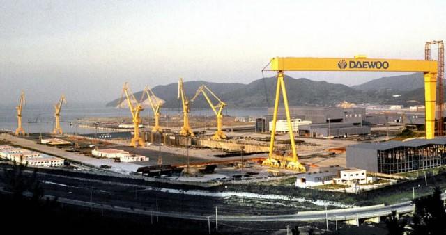 Η νοτιοκορεάτικη ναυπηγική βιομηχανία αγωνίζεται να επιβιώσει