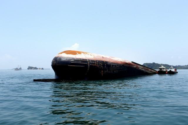Ναυτικό δυστύχημα στην θαλάσσια περιοχή νότια της Σιγκαπούρης