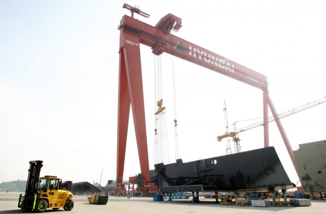 Πολιτικές μείωσης του λειτουργικού της κόστους υιοθετεί η Hyundai Heavy Industries
