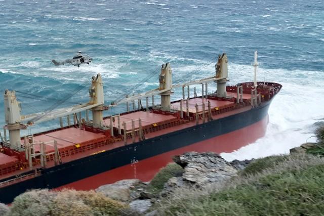 Προσάραξε Φ/Γ πλοίο στην Θεσσαλονίκη
