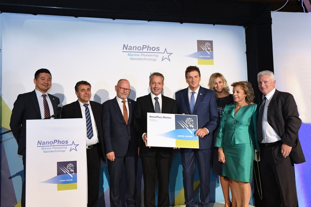 H NanoPhos Marine λαμβάνει πιστοποίηση από τον Green Award