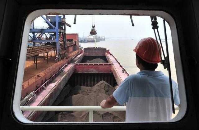 Σε φάση υποχώρησης η χαλυβουργία της Κίνας