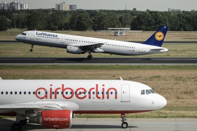 H Air Berlin πτωχεύει, η Lufthansa απογειώνεται