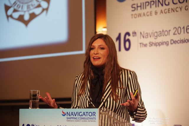 Δανάη Μπεζαντάκου, Διευθύνουσα Σύμβουλος - NAVIGATOR SHIPPING CONSULTANTS
