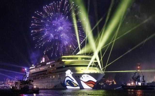 H πρώτη παγκόσμια κρουαζιέρα της AIDA Cruises