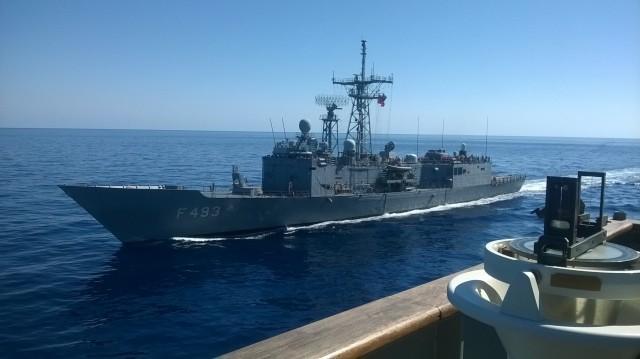 """Συμμετοχή του Πολεμικού Ναυτικού στην επιχείρηση """"SEA GUARDIAN"""""""