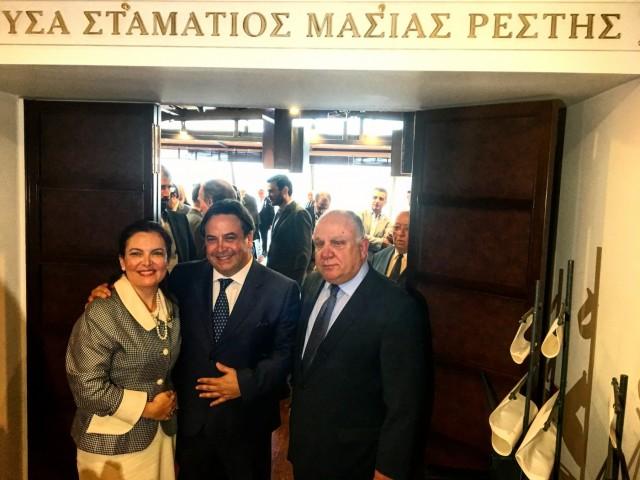 Ονοματοδοσία προς τιμήν του Σταματίου Ρέστη στη Ναυτιλιακή Λέσχη