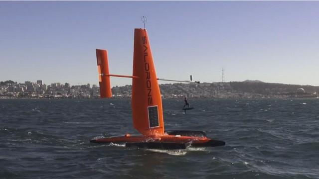 Drones εν πλω παρέχουν πληροφορίες για καιρικές συνθήκες