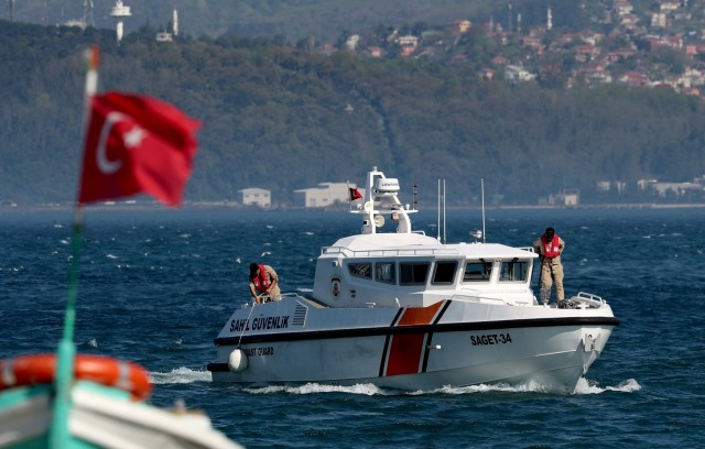 Τουρκικό πλοίο βυθίστηκε στη Μαύρη Θάλασσα
