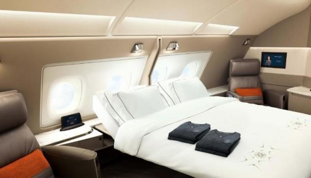 Πολυτελείς σουίτες στα Αirbus 380 της Singapore Airlines