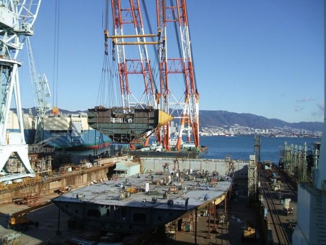 Επέλαση των Ιαπωνικών ναυπηγείων στην Κίνα