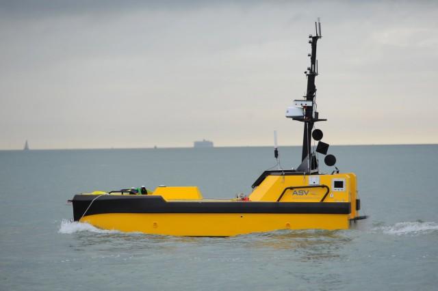Η πρώτη εγγραφή αυτόνομου πλοίου από το Ηνωμένο Βασίλειο
