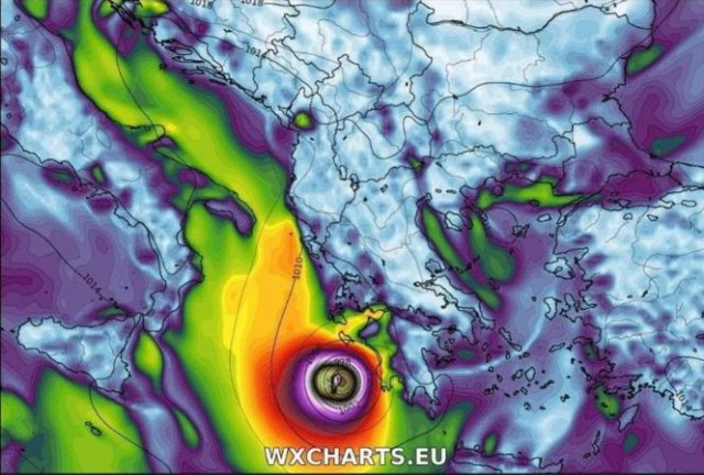 Το Ιόνιο στο «μάτι» του κυκλώνα