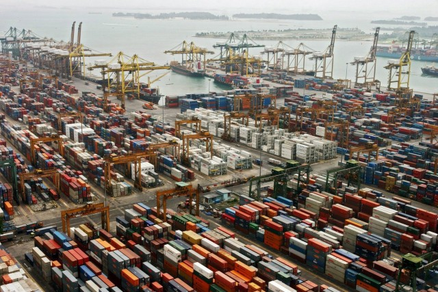 Σημαντική αύξηση της κίνησης για το λιμάνι της Σιγκαπούρης