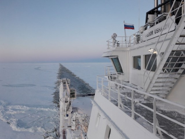 Αναπτύσσεται η εμπορική ναυσιπλοΐα κατά μήκος της διαδρομής του Βόρειου Περάσματος