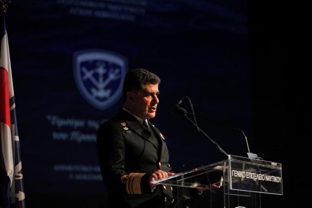 Ομιλία του Αρχηγού ΓΕΝ στο πλαίσιο του εορτασμού του Αγίου Νικολάου