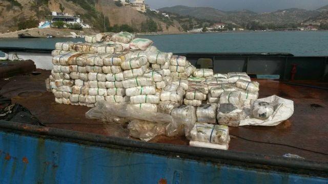 Κατασχέθηκε κάνναβη που μετέφερε ρυμουλκό στη θαλάσσια περιοχή νότια της Κρήτης