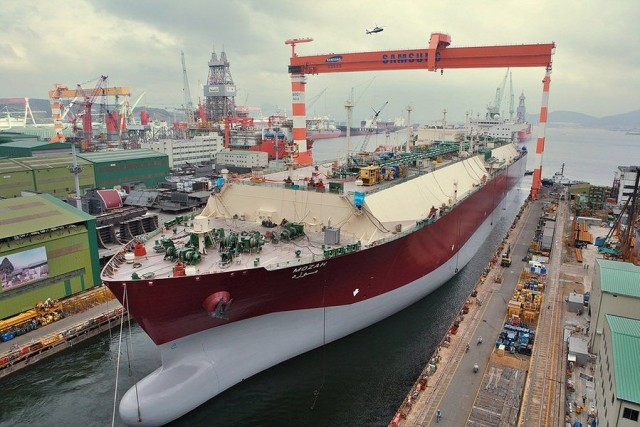 Νέα μέτρα για τη διάσωση της Samsung Heavy Industries