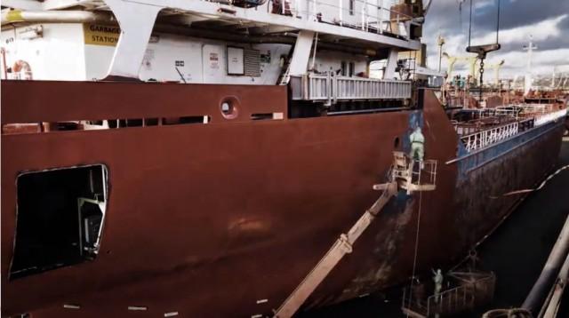 Ψηφιακές λύσεις στον τομέα βαφής των πλοίων