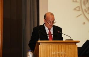 Ο Δρ. Ματθαίος Δ. Λως, εκπρόσωπος και Ταμίας της Ενώσεως Ελλήνων Εφοπλιστών
