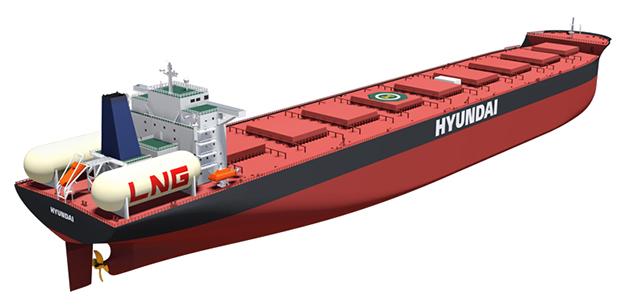 Προς παράδοση το μεγαλύτερο πλοίο κατανάλωσης LNG