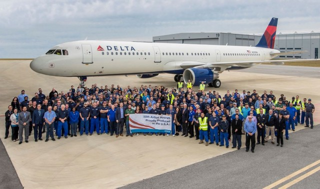 Ψήφος εμπιστοσύνης της Delta στην Airbus