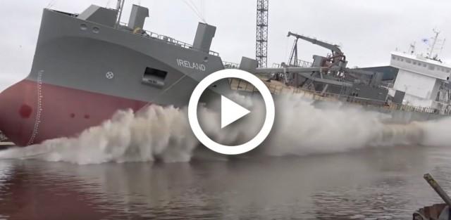 Oι 8 εντυπωσιακότερες καθελκύσεις πλοίων του 2017