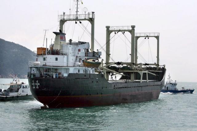 Νέες κυρώσεις σε εμπορικά πλοία της Β. Κορέας