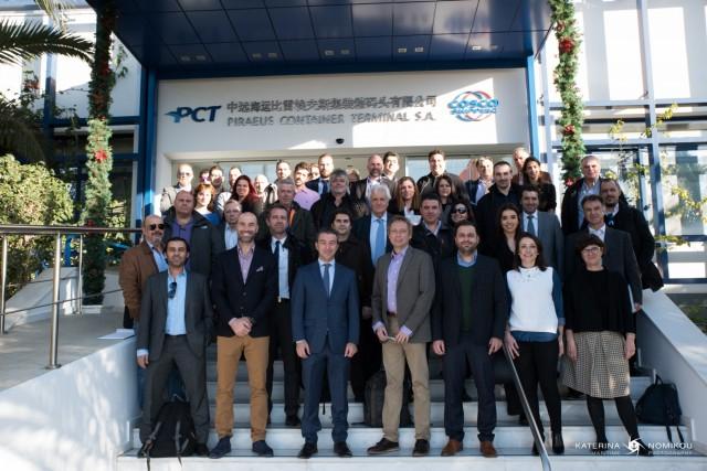 Επίσκεψη της WIMA και των μελών της στις εγκαταστάσεις της COSCO