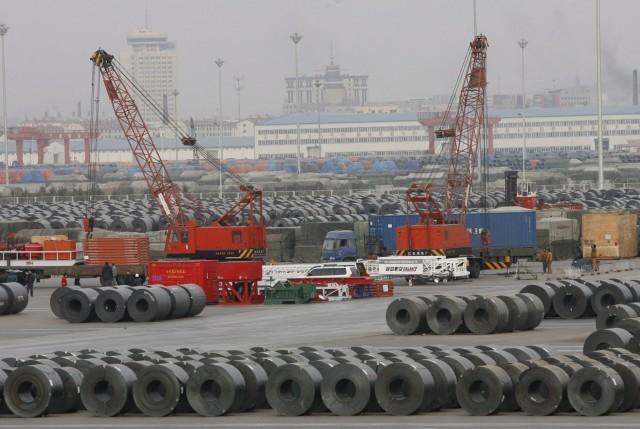 Σε συνεχή αύξηση η παραγωγή χάλυβα από την Κίνα