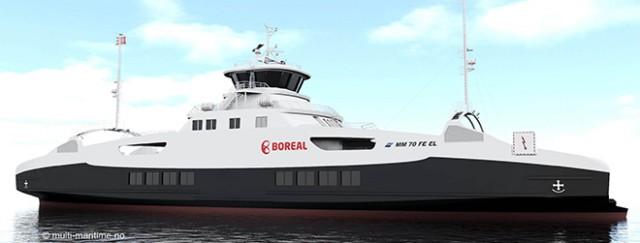 Πλοίο με μπαταρία για συνεχείς ηλεκτρικές λειτουργίες