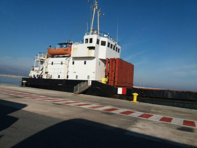 Φορτηγό πλοίο ξένης σημαίας εντοπίστηκε από το Λ.Σ. με εκρηκτικές ύλες