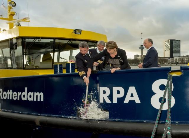 Υβριδικό σκάφος απέκτησε ο λιμένας του Ρότερνταμ